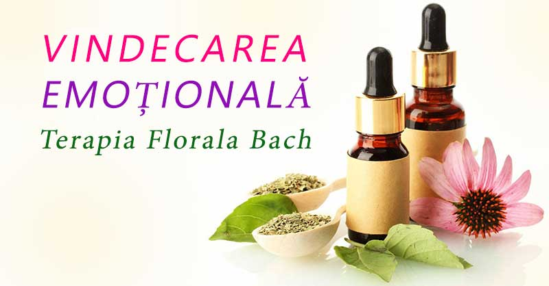 Vindecarea emotionala - Terapie florala Bach